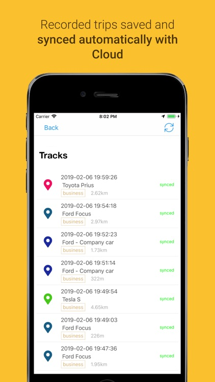 MyCarTracks Vehicle Tracker screenshot-1