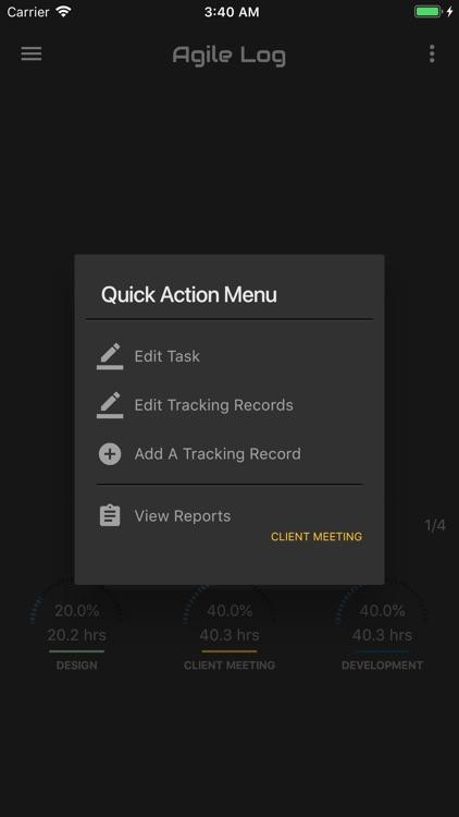 Agile Log - Time Tracker screenshot-8