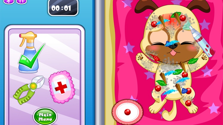 Pet Doctor Animals Caring Game screenshot-2