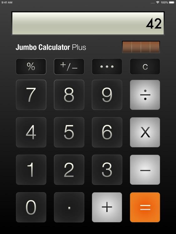 Jumbo Calculator Plus