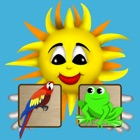 Beamy memo animals kid game icon