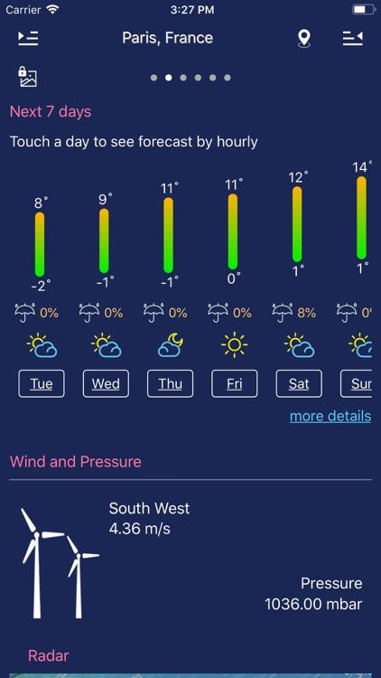 Weather forecast - Local&world screenshot-5