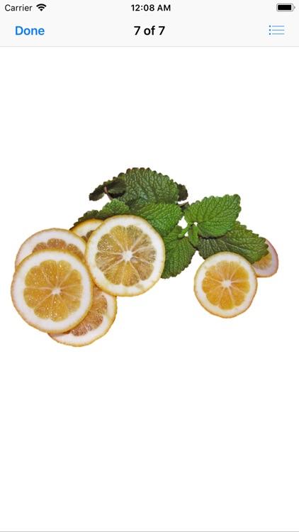 Lemony Lemon Stickers screenshot-9