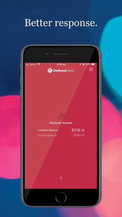 Defence Bank Mobile screenshot-7