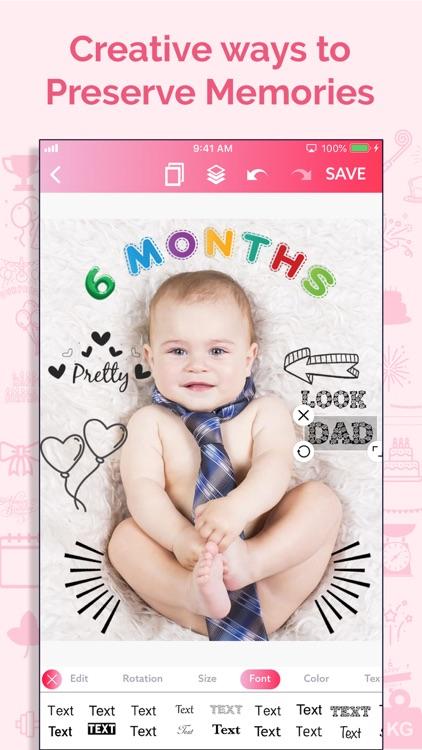 Baby Story Photo Maker screenshot-7