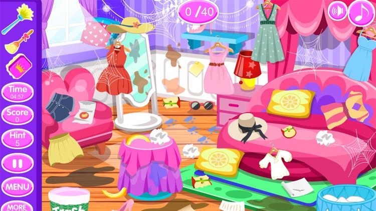 Princess room cleanup games screenshot-5