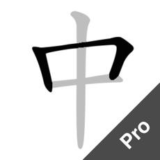 中文笔顺专业版 - 练字必备的书法字帖App