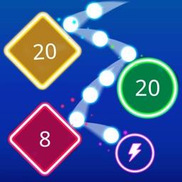 Bombs Drops - Physics balls