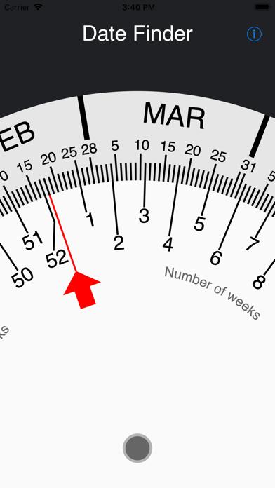 Screenshot for Simple Date Wheel in Egypt App Store