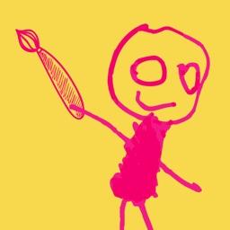 益智涂鸦涂色画画板(涂色游戏)