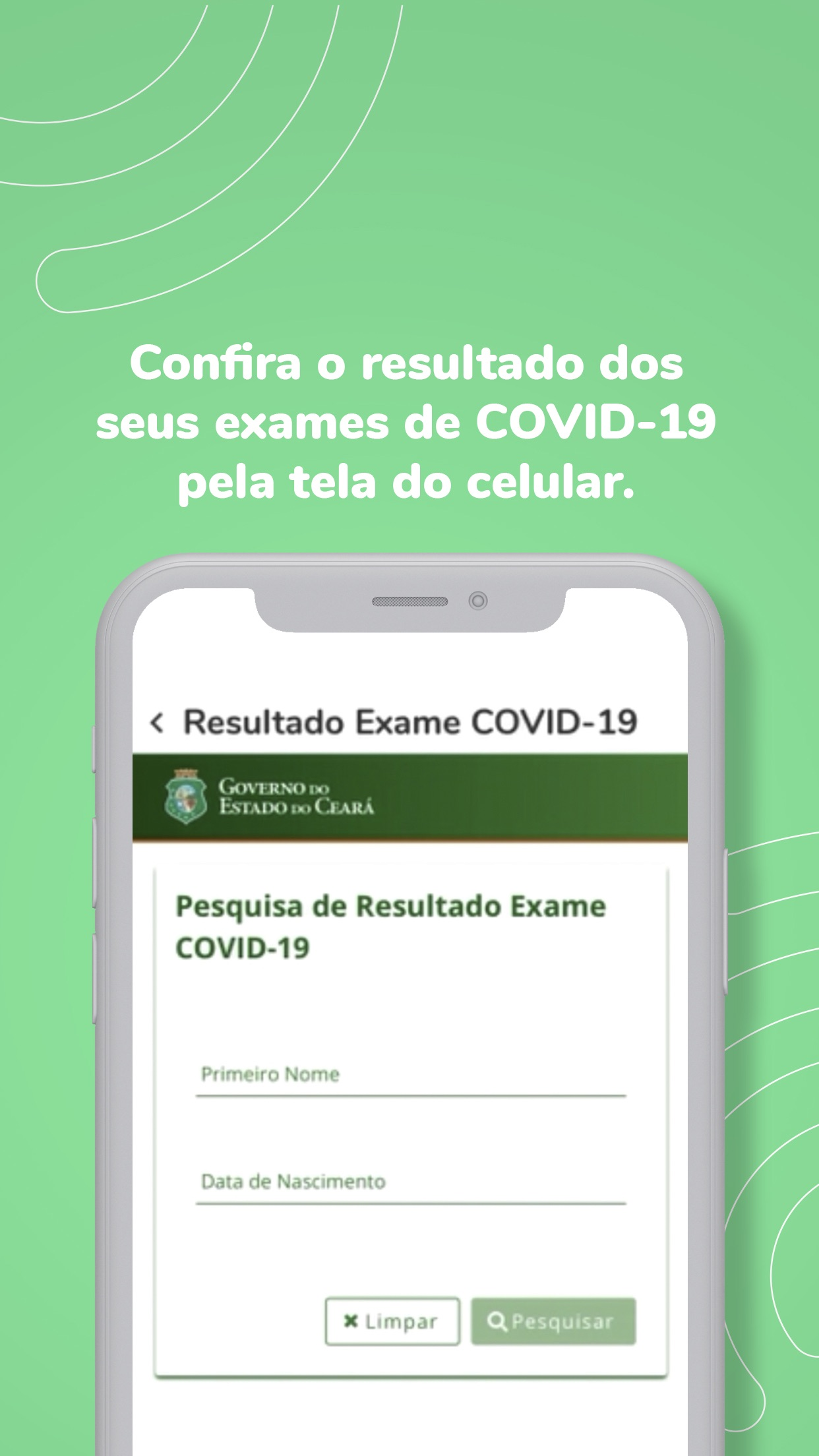 Screenshot do app Ceará App