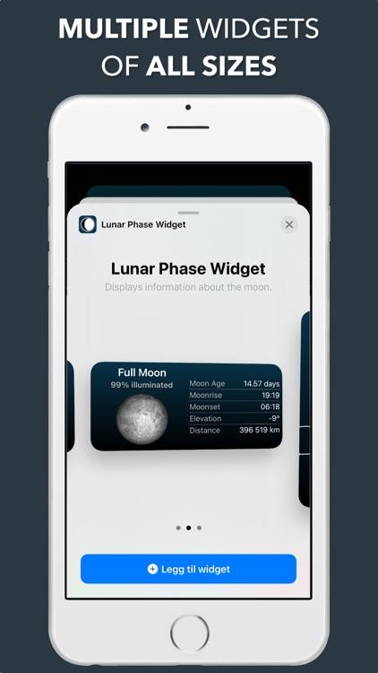 Lunar Phase Widget screenshot-6