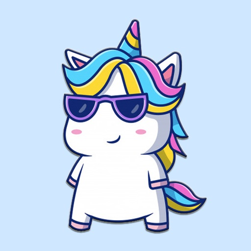 Bad Unicorn Stickers