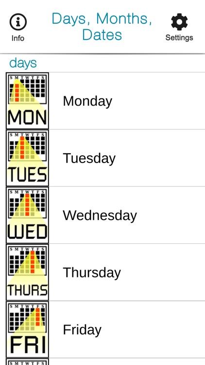 SmallTalk Days, Months, Dates