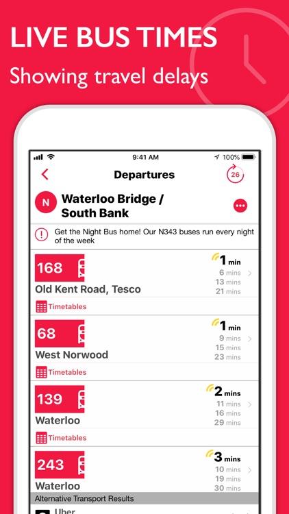 Bus Times London Pro screenshot-0