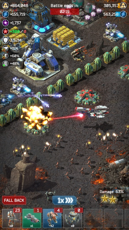 Battle for the Galaxy War Game screenshot-3