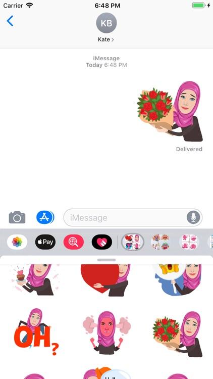 Muslimah Stickers