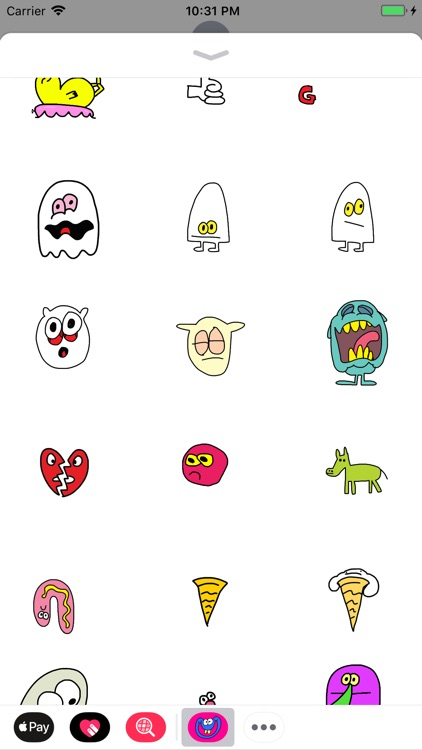 Jon Burgerman Stickers