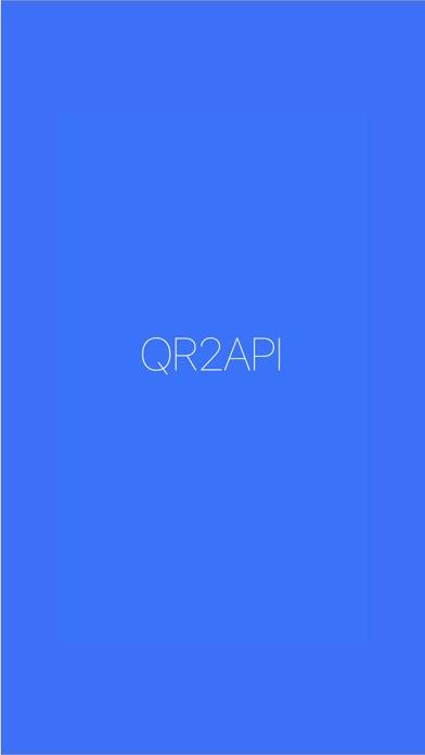 QR2API screenshot #1