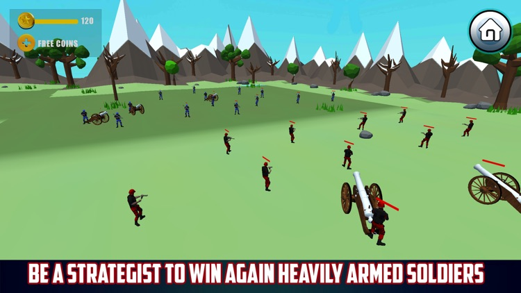 Epic Modern Battlefield