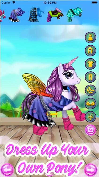 My Pony Monster Little Girls screenshot-4