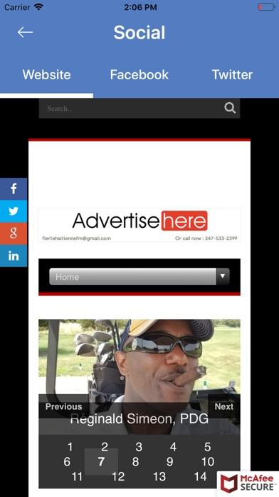 Fierte Haitienne FM screenshot #4
