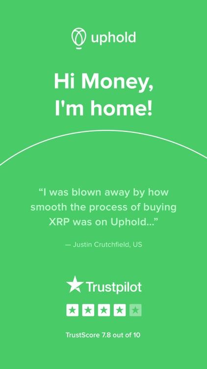 Uphold: buy and sell Bitcoin screenshot-5