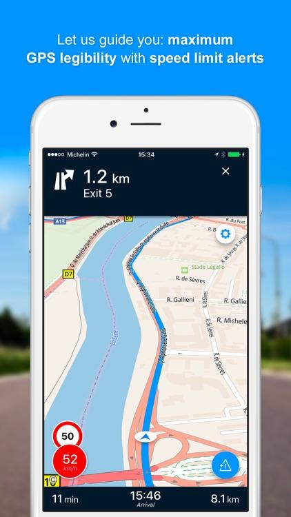 ViaMichelin GPS, Route Planner