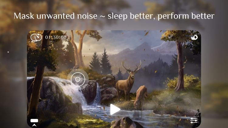 Flowing 2 ~ Sleep Sounds Relax screenshot-5