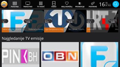 MojaTV - BH Telecom screenshot one