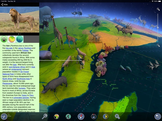 Screenshot #5 for Earth 3D - World Atlas