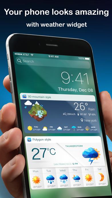 Weather Widget Fuji Screenshot