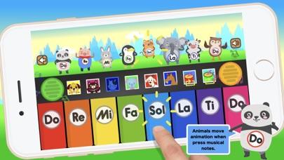 ぴあの 鍵盤 : 動物の音 知育のおすすめ画像2