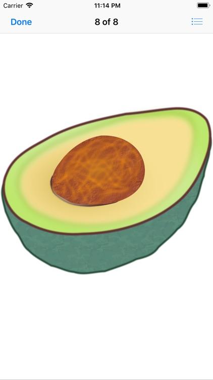 Lotsa Avocado Stickers screenshot-7