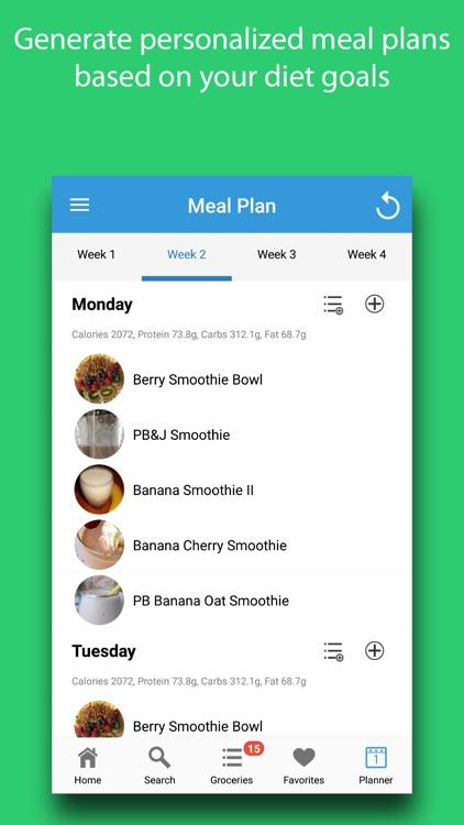 Smoothie Meals screenshot-5