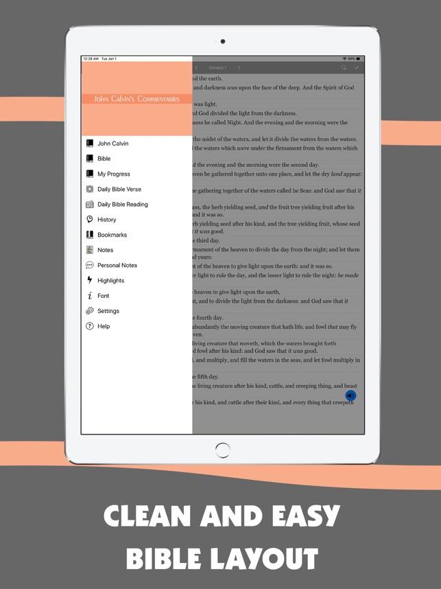 John Calvin Commentary Offline on the App Store