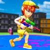 ペイントボールゲーム:3Dの撮影