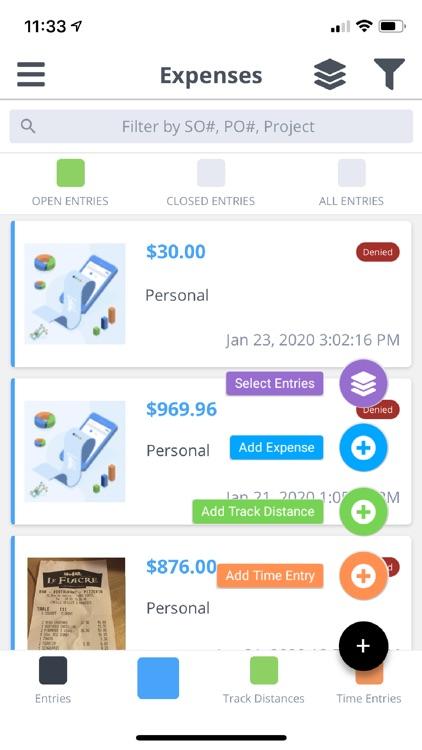 Expenses App