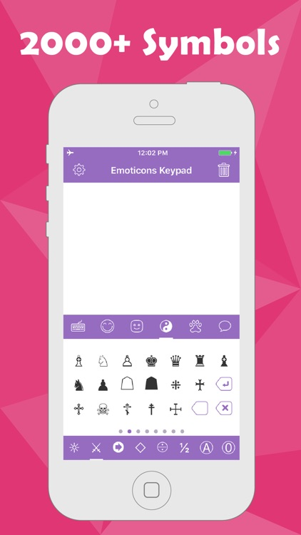 Emoticons Keypad for Texting