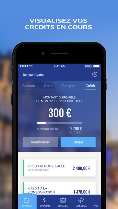 download Mes Comptes - LCL apps 7