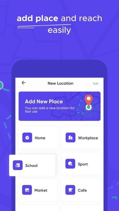 iCare - Find Location Screenshot