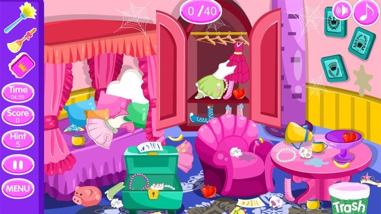 Princess room cleanup games screenshot-3
