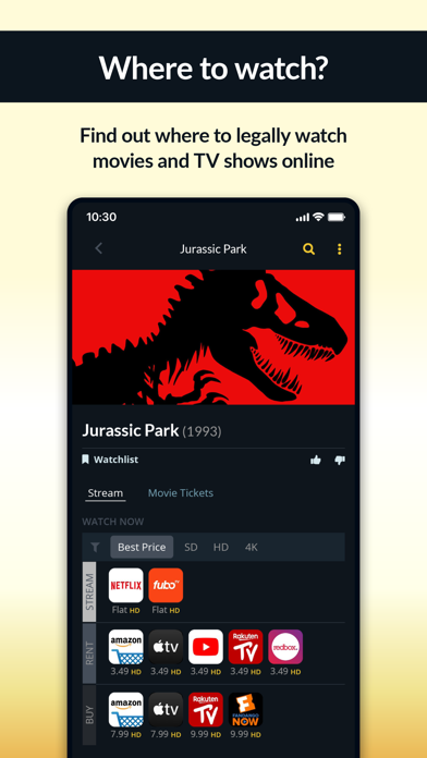 Justwatch Movies Tv Shows By Justwatch Gmbh Ios United States Searchman App Data Information