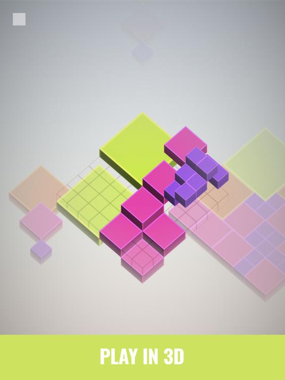 Isometric Squares - puzzle ²のおすすめ画像3