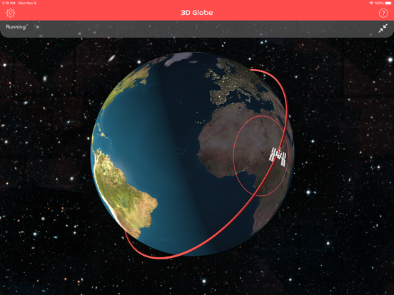 Screenshot #6 pour ISS Real-Time Tracker 3D