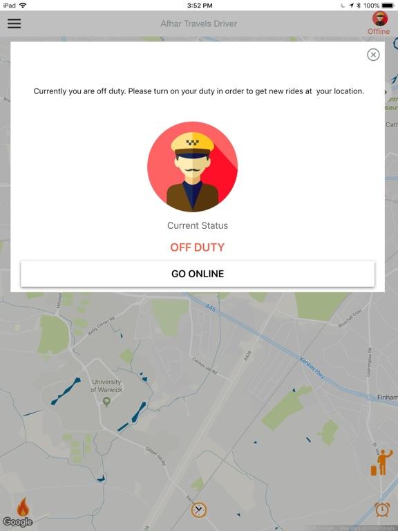 Screenshot #3 for Afhar Travels Driver