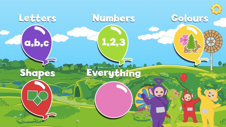 Teletubbies Balloon Pop screenshot-0