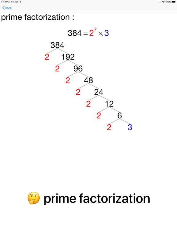 20/20 Primes and Factor Trees screenshot 11
