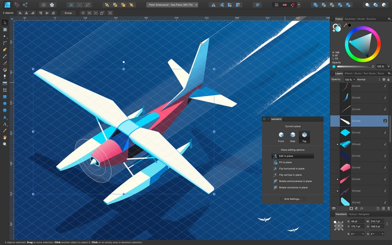 Affinity Designer Screenshots