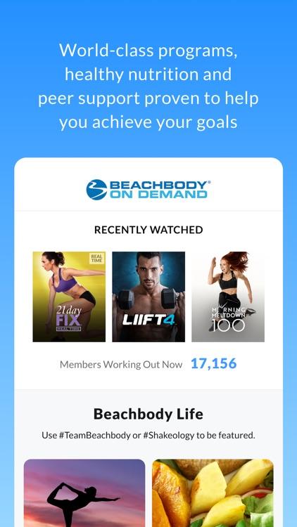 Beachbody® On Demand screenshot-0